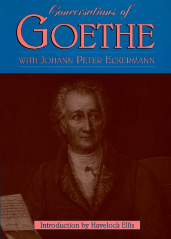 Gesprache mit Goethe  Reprint edition cover
