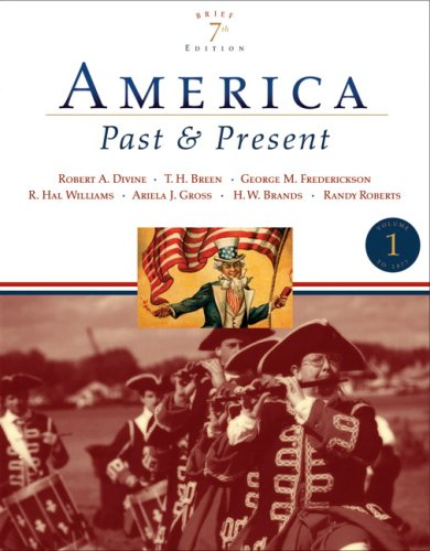 America Past and Present  7th 2007 (Revised) edition cover