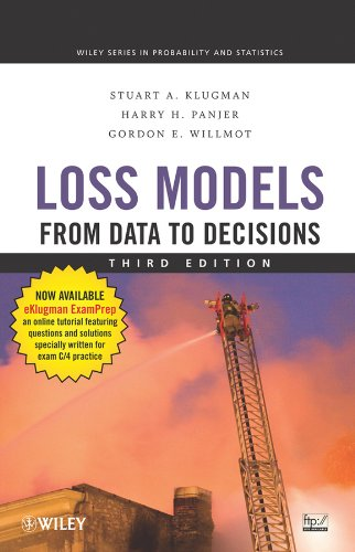 Loss Models From Data to Decisions 3rd 2008 9780470187814 Front Cover