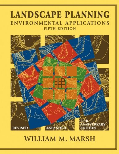 Landscape Planning Environmental Applications 5th 2010 edition cover