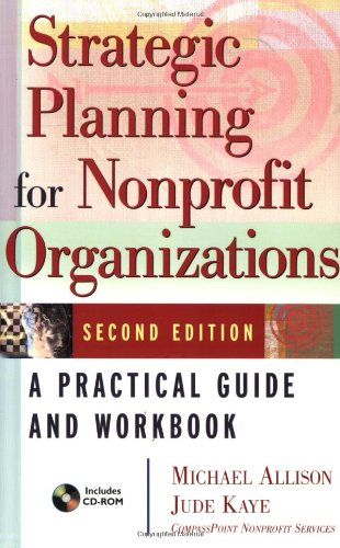 Strategic Planning for Nonprofit Organizations  2nd 2005 (Revised) edition cover