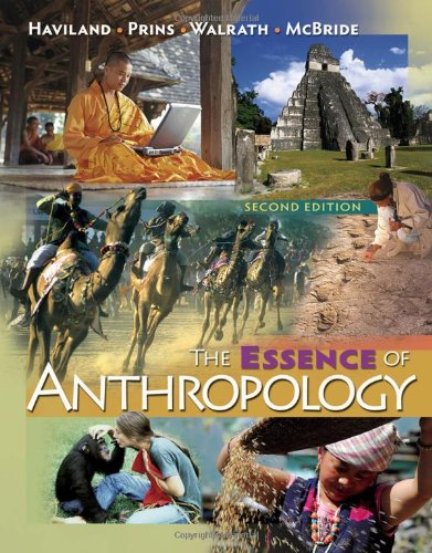 Essence of Anthropology  2nd 2010 edition cover