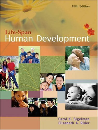 Life-Span Human Development  5th 2006 edition cover