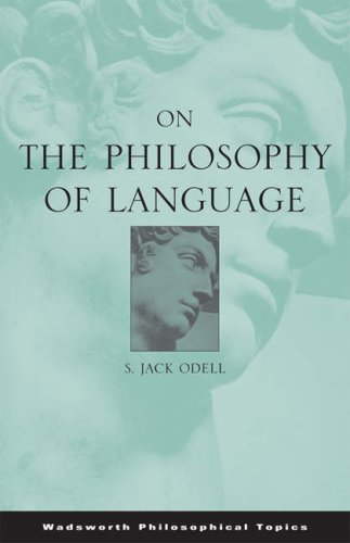 On the Philosophy of Language   2006 9780534595814 Front Cover