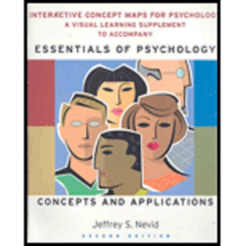 Essentials of Psychology: Concepts and Applications Concept Maps:  2nd 2008 9780547014814 Front Cover