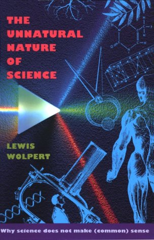 Unnatural Nature of Science   1993 edition cover