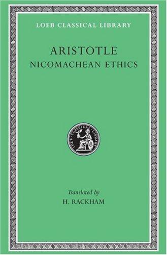 Aristotle Nicomachean Ethics  1926 (Revised) edition cover