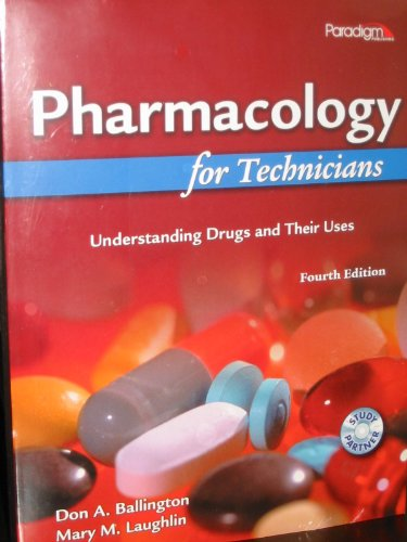 PHARMACOLOGY FOR TECHNICIANS N/A edition cover