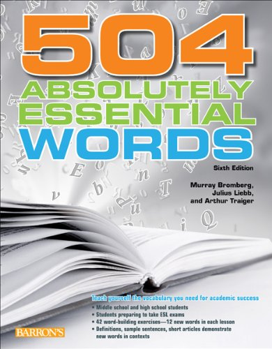 504 Absolutely Essential Words  6th 2012 (Revised) edition cover