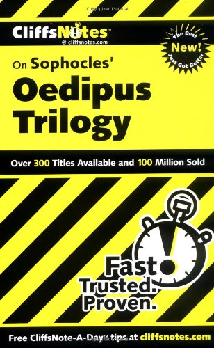 Sophocles' Oedipus Trilogy   2000 edition cover