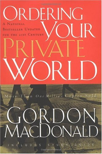 Ordering Your Private World   2003 edition cover