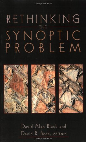 Rethinking the Synoptic Problem   2001 edition cover