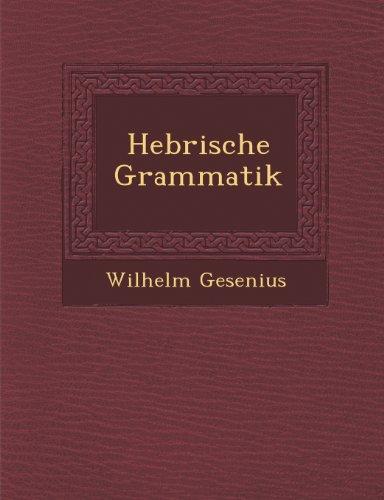 Hebr Ische Grammatik  0 edition cover