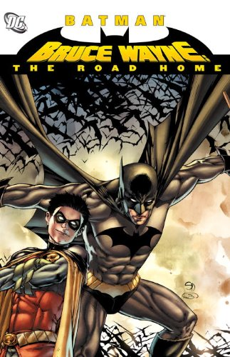 Bruce Wayne the Road Home   2011 9781401230814 Front Cover