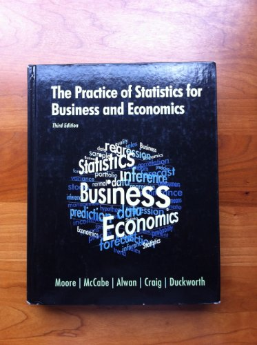 Practice of Statistics for Business and Economics 3rd 2010 (Revised) edition cover