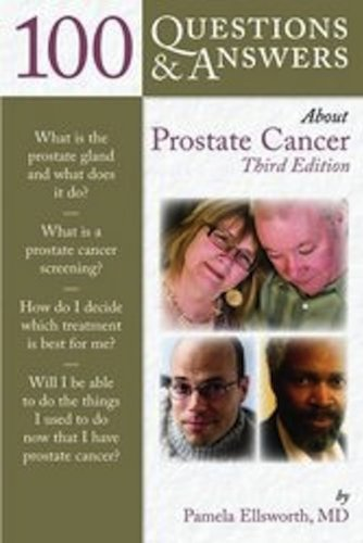 100 Questions and Answers about Prostate Cancer  3rd 2013 edition cover
