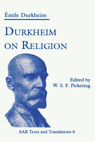 Durkheim on Religion   1994 9781555409814 Front Cover