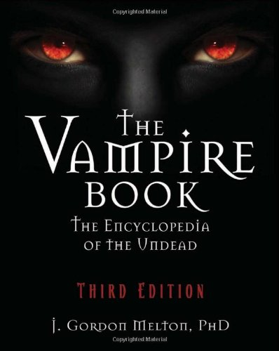 Vampire Book The Encyclopedia of the Undead 3rd 2011 edition cover