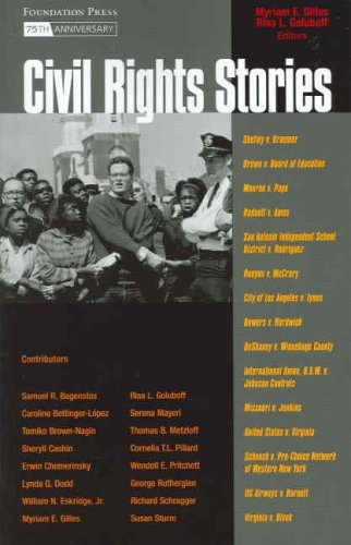 Civil Rights Stories  75th 2007 edition cover