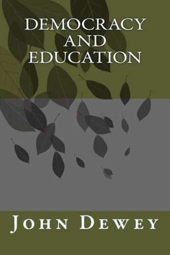 Democracy and Education   2012 edition cover