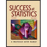 Success at Statistics-4th Ed A Worktext with Humor 4th 2009 (Revised) edition cover