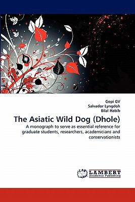 Asiatic Wild Dog  N/A 9783838311814 Front Cover