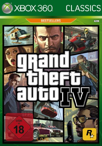 Grand Theft Auto IV (GTA4) Classics Xbox 360 artwork
