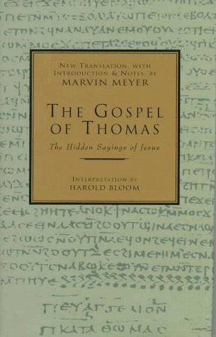 Gospel of Thomas The Hidden Sayings of Jesus  1992 (Revised) edition cover