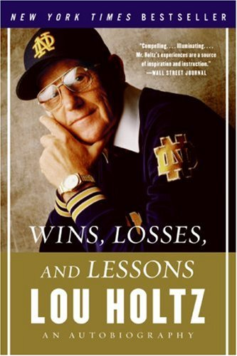 Wins, Losses, and Lessons An Autobiography N/A edition cover