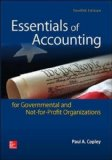 Essentials of Accounting for Governmental and Not-For-Profit Organizations  12th 2015 9780078025815 Front Cover