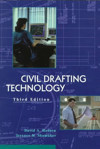 Civil Drafting Technolgy  3rd 1998 9780137511815 Front Cover
