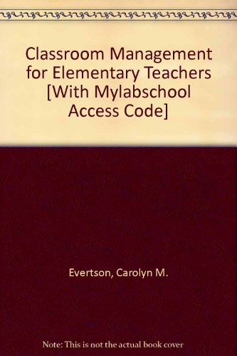 Classroom Management for Elementary Teachers 7th 2006 edition cover