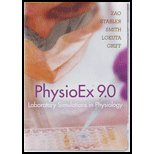 PhysioEx 9. 0   2012 edition cover