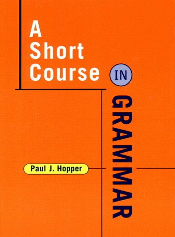 Short Course in Grammar   1999 edition cover