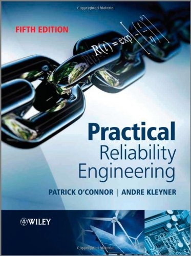 Practical Reliability Engineering  5th 2012 edition cover