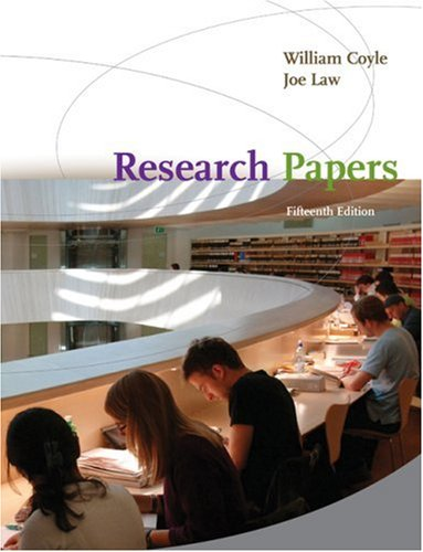 Research Papers  15th 2010 9780547190815 Front Cover