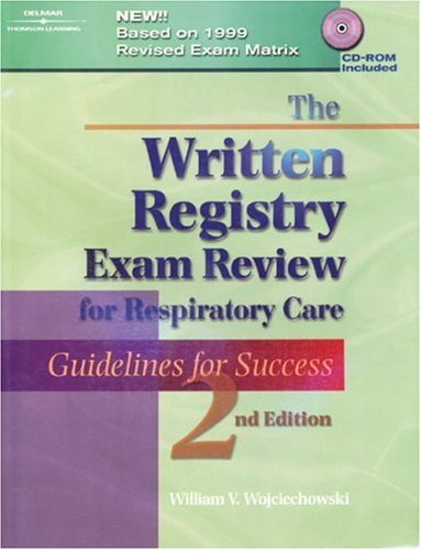 Written Registry Exam Review for Respiratory Care Guidelines for Success 2nd 2001 (Revised) edition cover