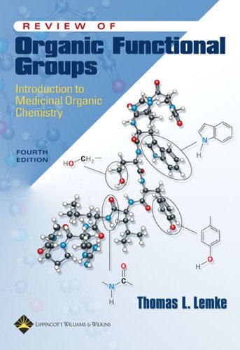 Review of Organic Functional Groups Introduction to Medicinal Organic Chemistry 4th 2003 (Revised) edition cover