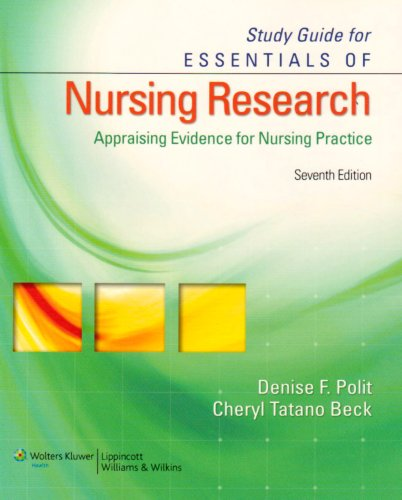 Nursing Research Appraising Evidence for Nursing Practice 7th 2010 (Revised) edition cover
