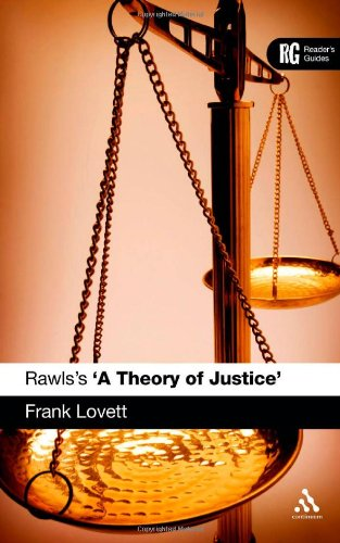 Rawls's 'A Theory of Justice'   2010 edition cover