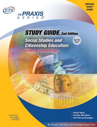 Study Guide Social Studies and Citizenship Education Content Knowledge 2nd 2005 9780886853815 Front Cover