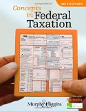 Concepts in Federal Taxation 2015:   2014 edition cover