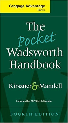 Pocket Wadsworth Handbook 2009  4th 2009 (Revised) edition cover