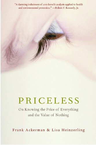 Priceless On Knowing the Price of Everything and the Value of Nothing  2005 edition cover