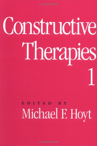 Constructive Therapies Volume 1  1994 edition cover