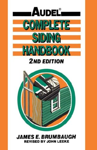 Complete Siding Handbook Installation, Maintenance, Repair 2nd 1993 (Revised) 9780025178816 Front Cover