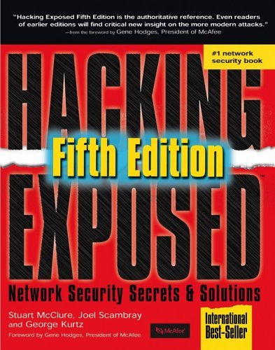 Hacking Exposed  5th 2005 (Revised) 9780072260816 Front Cover