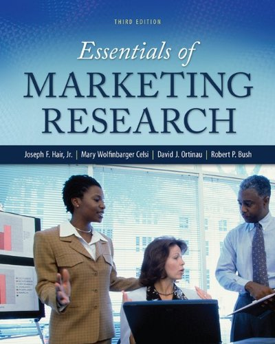 Essentials of Marketing Research  3rd 2013 9780078028816 Front Cover