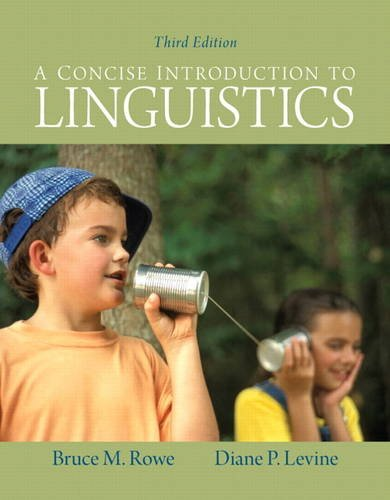 Concise Introduction to Linguistics  3rd 2012 (Revised) edition cover