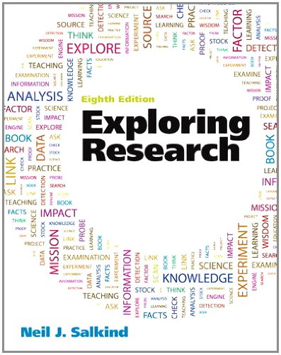 Exploring Research  8th 2012 (Revised) edition cover